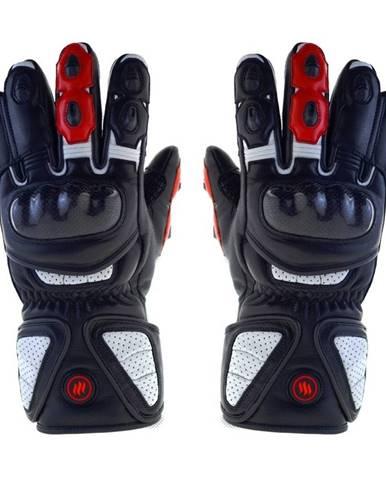 Vyhrievané moto rukavice Glovii GDB čierna - L
