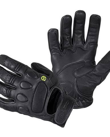 Kožené moto rukavice W-TEC Cherton čierna - S
