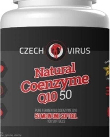 Czech Virus Natural Coenzyme Q10 50 100 kapsúl