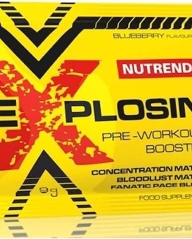Nutrend Explosin 9 g variant: čučoriedka