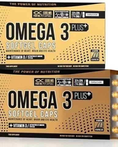 Nutrend Omega 3 Plus Softgel Caps 120 kapsúl