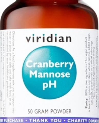 Viridian Cranberry Mannózy Ph 50 g