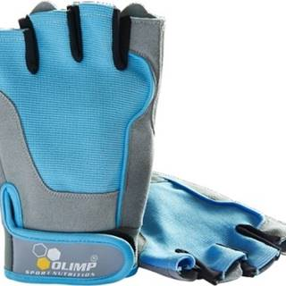 Olimp Fitness One dámske rukavice modré variant: L