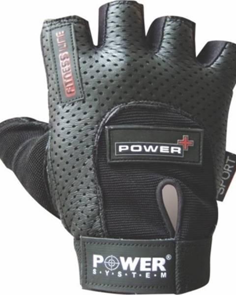 Power System Power System Fitness rukavice Power Plus čierne variant: L