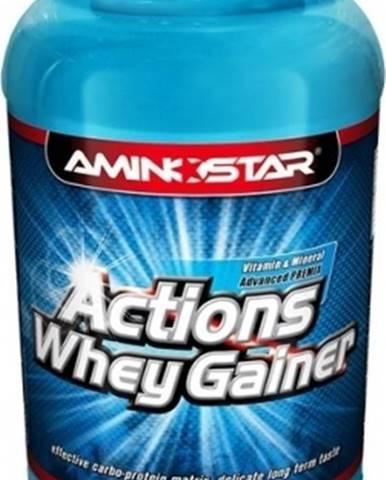 Aminostar Whey Gainer Actions 2250 g variant: čokoláda