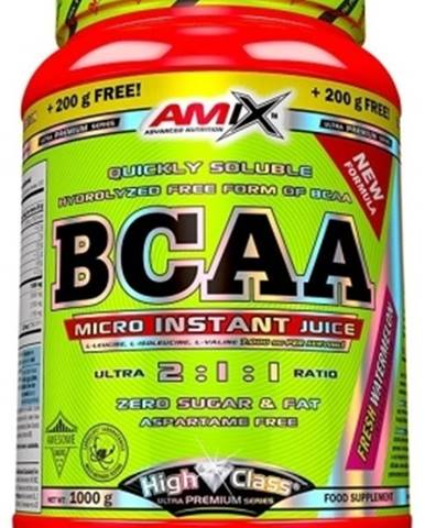 Amix Nutrition Amix BCAA Micro Instant Juice 800 g + 200 g ZADARMO! variant: ananás