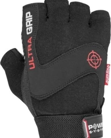 Power System Fitness rukavice Ultra Grip čierne variant: M