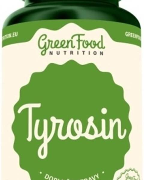 GreenFood GreenFood Tyrozín 90 kapsúl