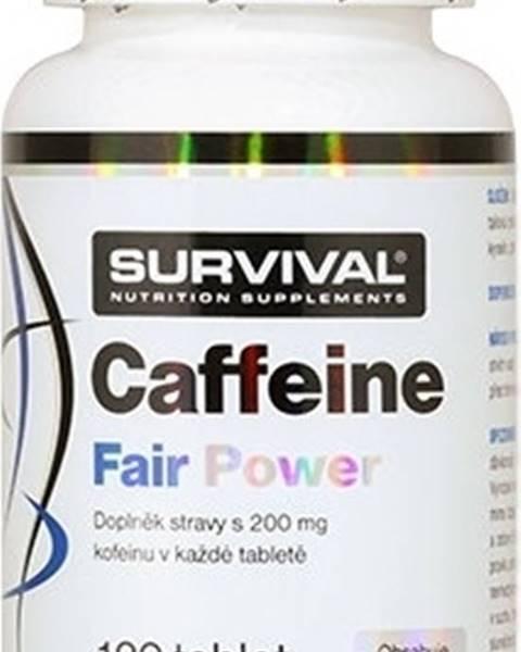 Survival Survival Caffeine Fair Power 120 tabliet