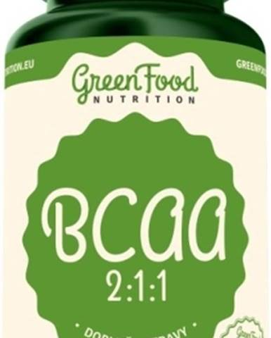 GreenFood BCAA 2:1:1 120 kapsúl