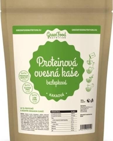 GreenFood Proteínová ovsená kaša bezlepková 500 g variant: banán