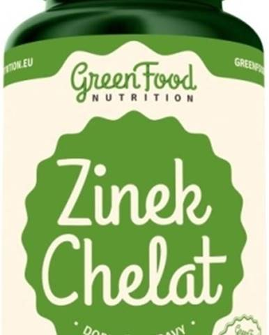 GreenFood Zinok Chelát vegan 60 kapsúl