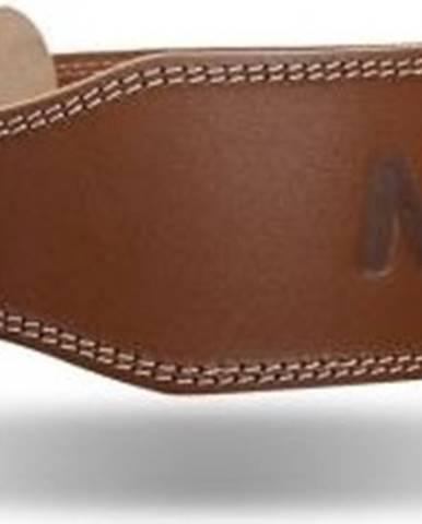 Madmax Opasok celokožený Full Leather MFB246 hnedý variant: L