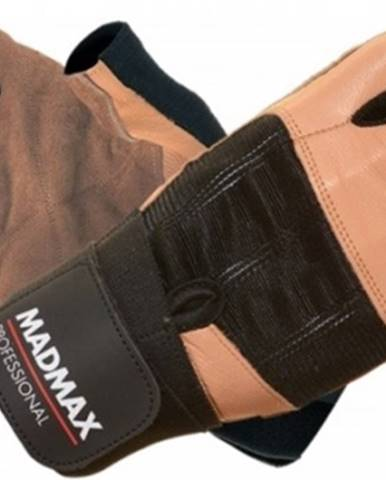Madmax Rukavice Professional MFG269 hnedé variant: L