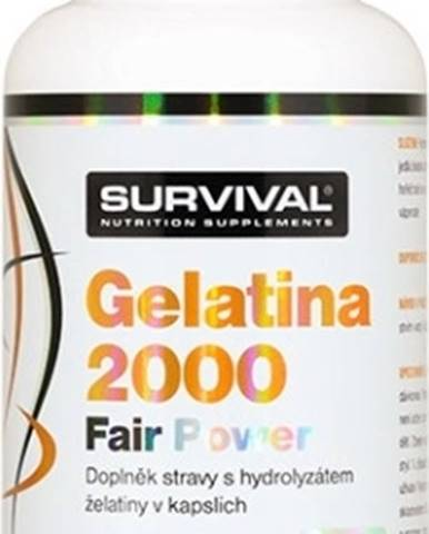 Survival Gelatina 2000 Fair Power 150 kapsúl