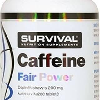 Survival Caffeine Fair Power 120 tabliet