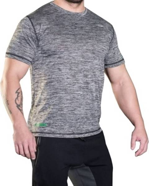 MadMax MadMax Tričko s krátkym rukávom MSW308 sivé variant: L
