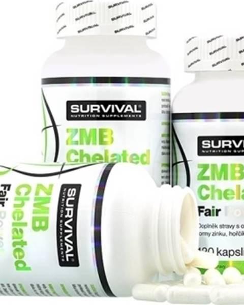 Survival Survival ZMB Chelated Fair Power 120 kapsúl