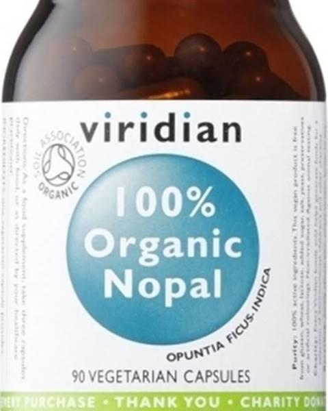 Viridian Viridian 100 % Organic Nopal 90 kapsúl