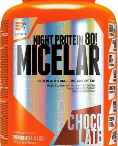 Extrifit Micelar Casein 2000 g variant: čokoláda