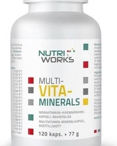 Nutriworks Multivitaminerals 120 kapsúl