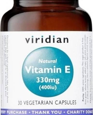 Viridian Vitamín E 330 mg 400 IU 30 kapsúl