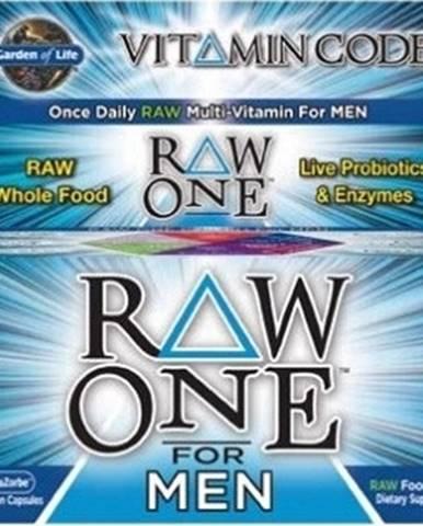 Garden Of Life Vitamín Code Raw One - pre Mužov 75 kapsúl