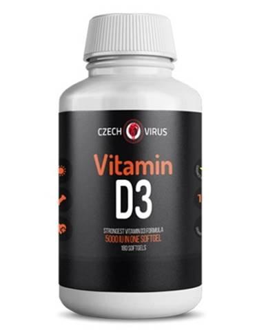 Czech Virus Vitamín D3 180 kapsúl