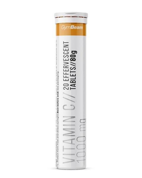 GymBeam GymBeam Vitamín C 1000 mg 20 tab. pomaranč