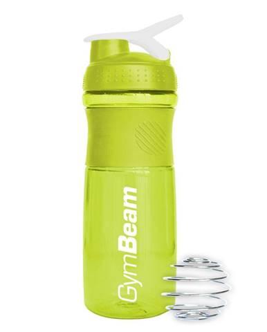 GymBeam Šejker Sportmixer Green White 760 ml