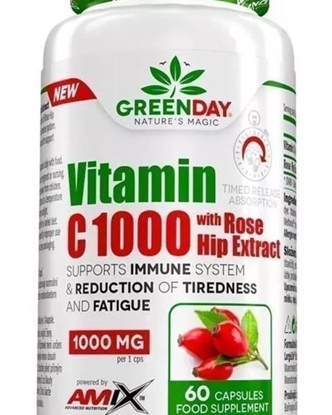 Amix Nutrition Amix Nutrition Amix Vitamin C 1000 s extraktom zo šípok 60 kapsúl