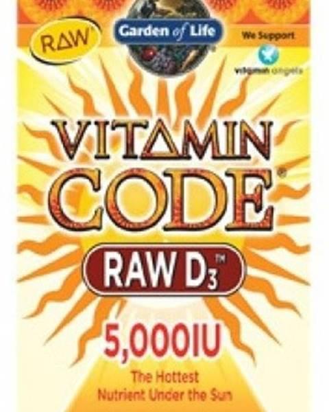 Garden of life Garden Of Life Vitamín D3 Raw 5000 IU 60 kapsúl