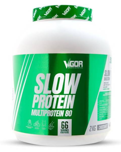 Vigor Nutrition Vigor Nutrition Vigor Slow Protein 2000 g variant: jahoda