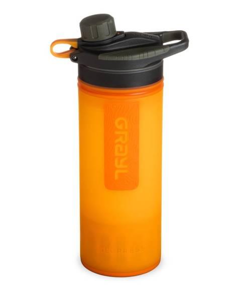 Grayl Filtračná fľaša Grayl Geopress Purifier Visibility Orange