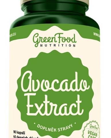 GreenFood Avocado Extract 90 kapsúl