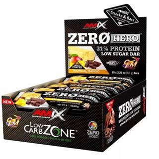 Amix Nutrition Amix Zero Hero 31% Protein Bar 15×65 g variant: dvojitá čokoláda