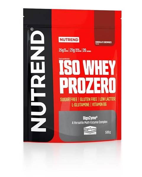 Nutrend Nutrend ISO Whey ProZero 500 g variant: čokoláda - brownie