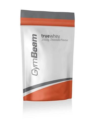 GymBeam True Whey Protein 2500 g čokoláda lieskový oriešok