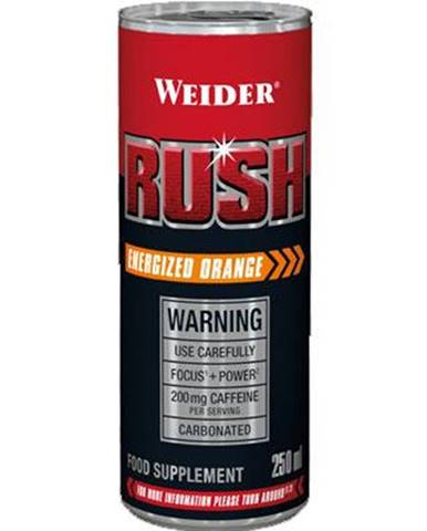 Weider Rush RTD 250 ml variant: pomaranč