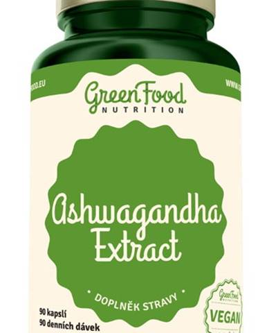 GreenFood Ashwagandha 90 kapsúl