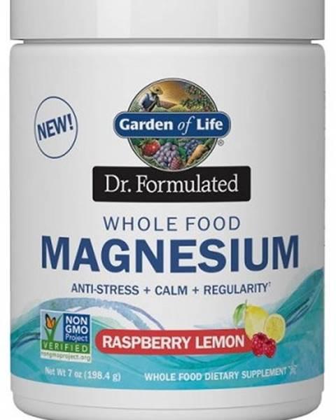Garden of life Garden of Life Magnesium Dr. Formulated - Horčík 198,4 g variant: malina - citrón