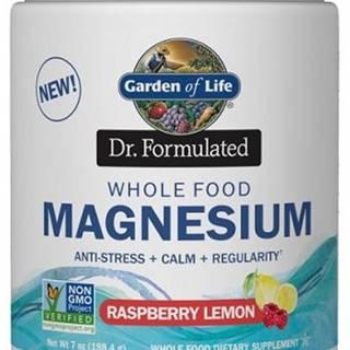Garden of Life Magnesium Dr. Formulated - Horčík 198,4 g variant: malina - citrón