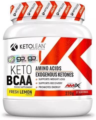 Amix Nutrition Amix KetoLean Keto goBHB + BCAA 270 g variant: citrón