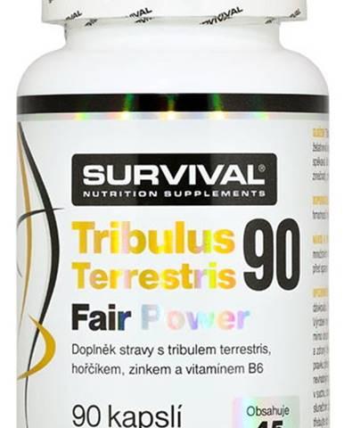 Survival Tribulus Terrestris 90 % Fair Power 90 kapsúl