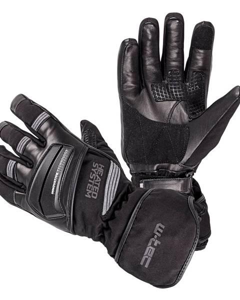W-Tec Vyhrievané rukavice W-TEC HEATston šedá - XS