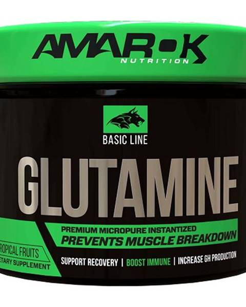 Amarok Nutrition Basic Line Glutamine - Amarok Nutrition 300 g Tropical
