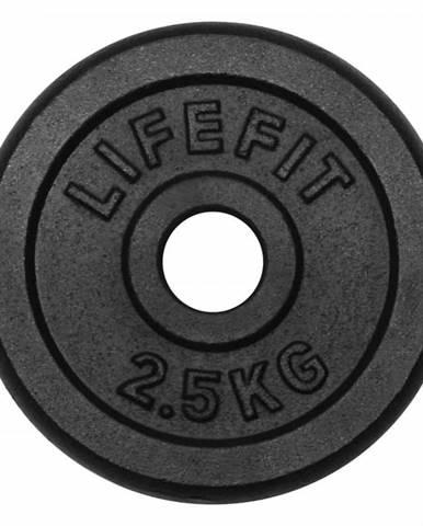 Kotúč LIFEFIT 2,5kg, kovový, pre 30mm tyč