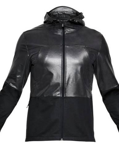 Pánska mikina Under Armour Swacket BLACK FULL HEATHER / BLACK - S