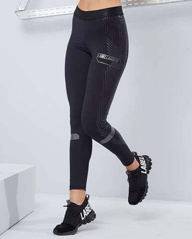 LABELLAMAFIA Dámske legíny Techwear Vibes Black  S