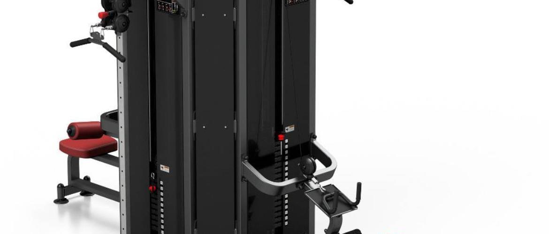 Posilňovacia veža Marbo Sport MP-T001 červená